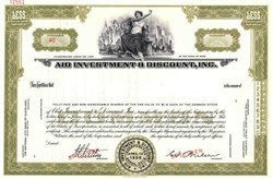 Aid Investment & Discount, Inc. ( Became General Acceptance Corporation )