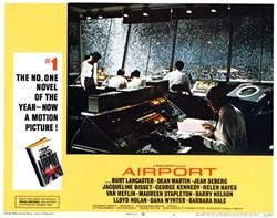 Airport Lobby Card Starring Burt Lancaster and Dean Martin - 1970