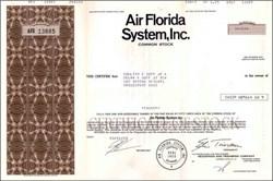 Air Florida System, Inc. 1980