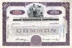 Aireon Manufacturing Corporation - 1946 ( became Jukebox maker )