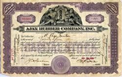 Ajax Rubber Company, Inc. -  New York 1929