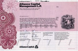Alliance Capital Management - 1988