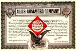 Allis - Chalmers Company ( Famous Farm Tractor Company) 1901