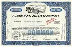 Alberto-Culver Company-Delaware 1965