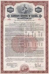 Aluminum Company of Canada (Alcan) 1957