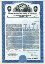 Aluminum Company of America (ALCOA) Specimen Bond - 1957