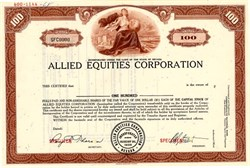 Allied Equities Corporation - Nevada 1968