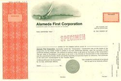 Alameda First Corporation - California