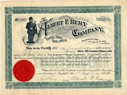 Albert F. Remy Company (Early policeman vignette) - Ohio