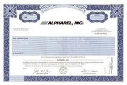 Alpharel, Inc. - California ( Became Altris Software )