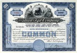 Allied Kid Company (Mountain Goats Vignette) - Massachusetts
