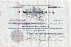 Alamo Mines Company -  Wyoming 1914