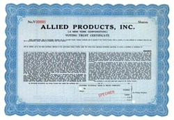 Allied Products, Inc. - New York