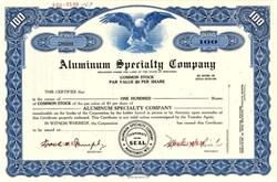 Aluminum Specialty Company (Made First Aluminum Christmas Tree) - Manitowoc, Wisconsin 1967