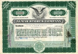 Almar Stores Company (grocery store chain) - 1930