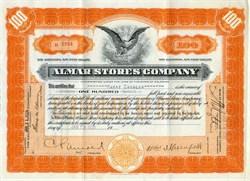 Almar Grocery Stores Company - Delaware 1929