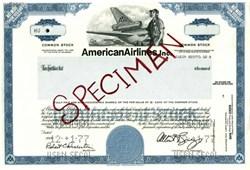 American Airlines, Inc - Specimen