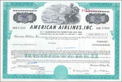 American Airlines  ( Pre Bankruptcy) - 1978