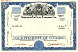 American Air Filter Company, Inc. - Louisville, Kentucky 1969