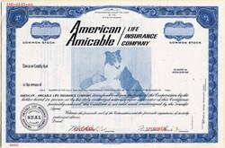 American Amicable Life Insurance Company (ALICO) Specimen - Alabama