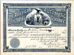 American Automatic Refrigerating Company - 1890