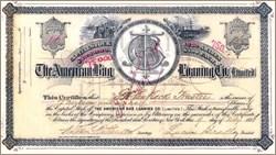 American Bag Loaning Company 1884
