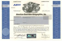 American Bank Note Holographics, Inc (Holograph vignette)