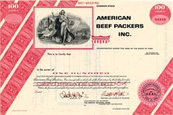 American Beef Packers Inc. (Great gift for a beef packer) - Iowa