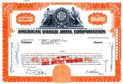 American Bosch Arma Corporation - New York 1969