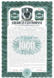 American Can Company - New Jersey 1913 - Gold Bond