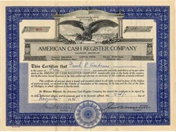 American Cash Register Company - Michigan 1925