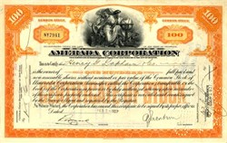 Amerada Corporation 1927 ( Early Amerada Hess Corporation)