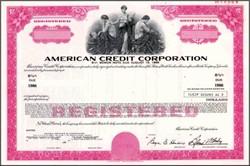 American Credit Corporation 1976