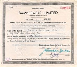 Bambergers Limited