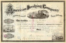 American Dredging Company 1901