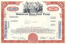 American Dual Vest WPG (WEISS, PECK & GREER) Mutual Fund Stock