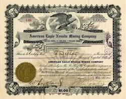 American Eagle Nevada Mining Company - Nevada 1910