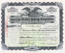 American Electric Heating Corporation 1898