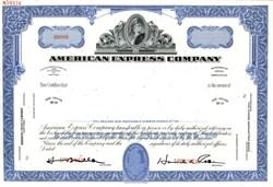American Express Company - New York 1989