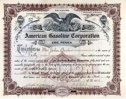 American Gasoline Corporation 1919
