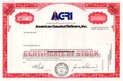American Gasohol Refiners, Inc. ( High Plains Corporation )