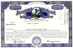 American General Insurance Company (Now AIG American General) - Owned by American International Group, Inc. (AIG)