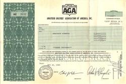 Amateur Golfers' Association of America, Inc. - Delaware 1985