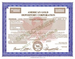 American Gold Depository Corporation