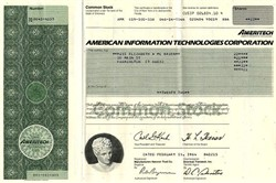 American Information Technologies Corporation - ATT Breakup (Ameritech Corporation) - Delaware 1984