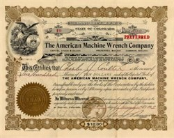 American Machine Wrench Company - Denver, Colorado 1903