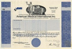 American Medical International, Inc. - Delaware 1988