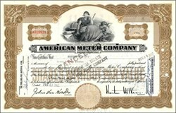 American Meter Company - 1950's