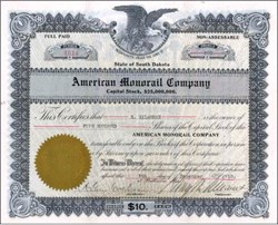 American Monorail Company -  South Dakota 1911