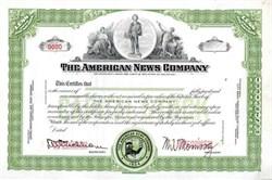 American News Company ( Specimen )